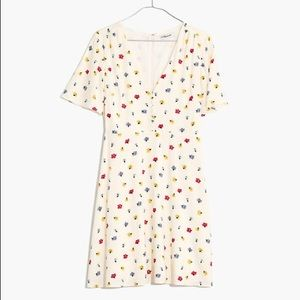 Madewell Confetti Floral Dress